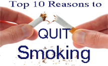 10 reason to Quit Smoking
